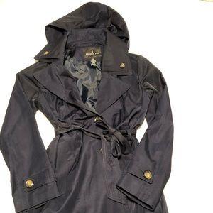 London Fog Navy Trench Coat